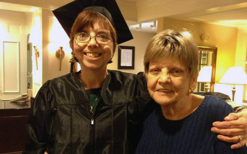 New England College of Business student able to share graduation with terminally ill mother thanks to special ceremony