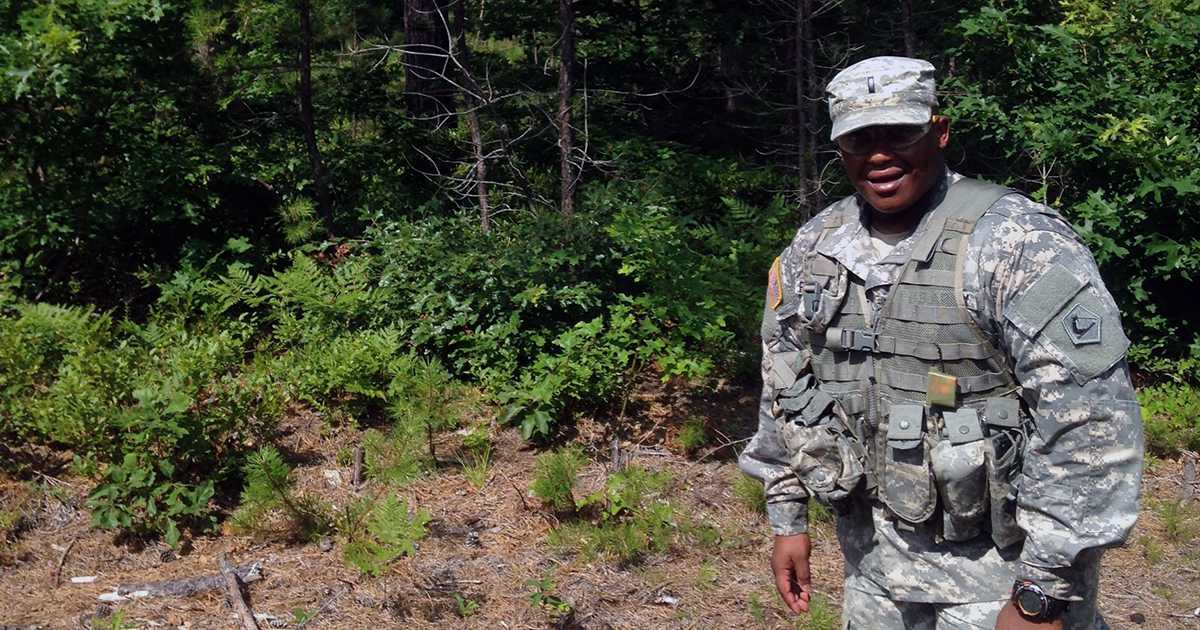 military veteran Nilson Fernandes pursues his master's in healthcare management
