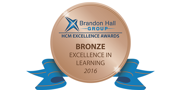 Brandon Hall Group - Excellence in Learning Awards - Gold 2017