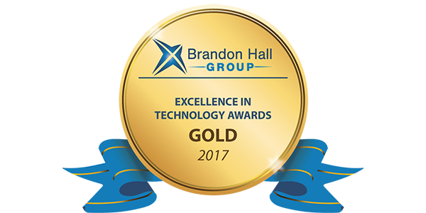 Brandon Hall Group - Excellence in Technology Awards - Gold 2017